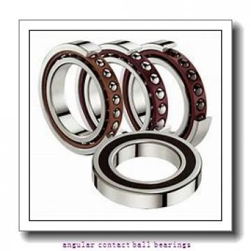 0.669 Inch | 17 Millimeter x 1.575 Inch | 40 Millimeter x 0.472 Inch | 12 Millimeter  INA 7203-B-E-2RS  Angular Contact Ball Bearings